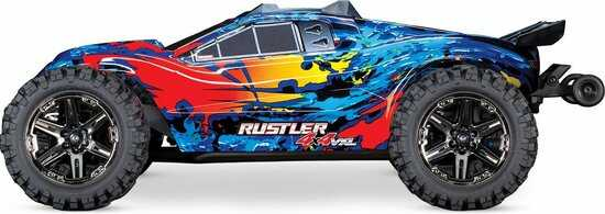 rustler 4x4 vxl brushless optimized