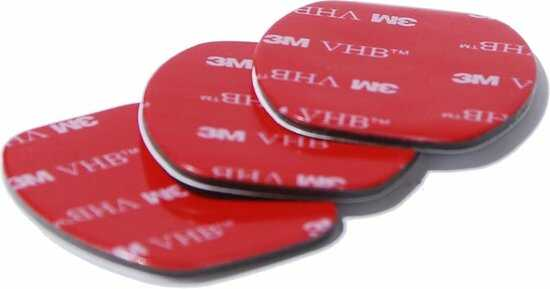 sticker voor plat oppervlak adhesive optimized