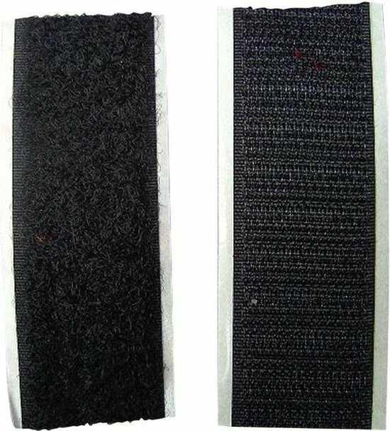 zwart klittenband 100 cm drone onderdelen vastmaken optimized