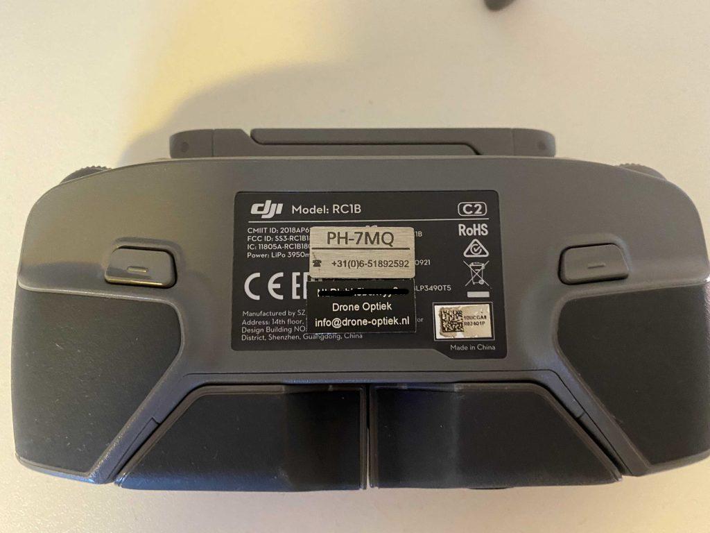 drone tag op afstandsbediening